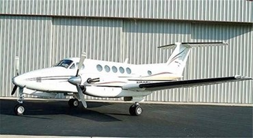 1981 King Air 200 BB825.jpg